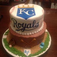 Royals Birthday Cake Made for a friend.