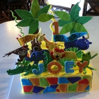 Crazy Jungle Cake