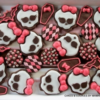Monster High MONSTER HIGH sugar cookies