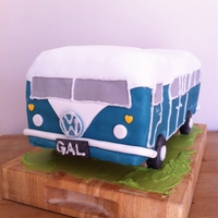 The Vw Camper 30th Birthday Cake