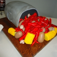Crawfish Gooms Cake