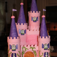 Pink Castle My first castle!! I learned everything right here on CC. I want to thank every baker who made a castle, because I took a piece of everyone...