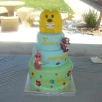 Wubbzy 3Rd Birthday Cake This is the cake my hubby & I made for our 3 year old son. He loves Wubbzy so we decided this was the way to go for his birthday cake....