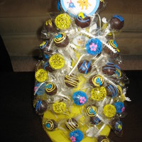 Cake Pop Tree: Moose And Zee Theme