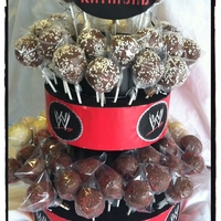Wwe Wrestling Cake Pop Tower