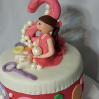 Bubble Themed Cake