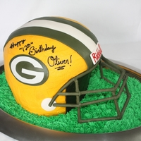 Packer Helmet