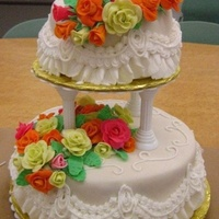 First Wedding Cake (From Class)
