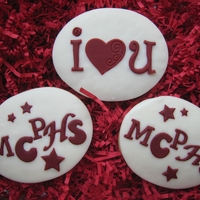 Going To College My daughter is leaving for college (Massachusetts College of Pharmacy and Health Sciences.....MCPHS) on Wednesday. I made cookies for her...