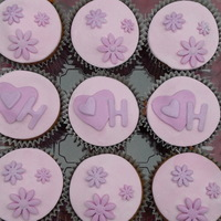 Allergen Free Cupcakes To Match Cake  These cupcakes were made to match the heartshaped allergenfree birthday cakes for a little girl turning four who had her first cake ever....