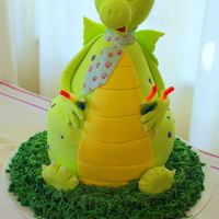 3Rd Birthday Dragon Cake