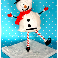 Funky Mr. Frosty   This Funky Mr.Frosty is 50 centimeters tall