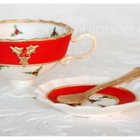 Teapot With Cup Christmas