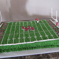 University Of Houston Football This was a cookie cake for a groom