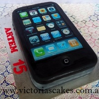 Iphone 5 Cake For My Nephew Who Is A Great Fan Of Iphones iphone 5 cake for my nephew who is a great fan of iphones)))))