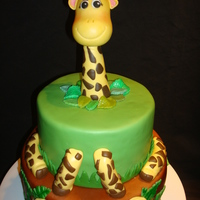 Safari Baby Shower Safari Baby Shower Cake. All chocolate with whipped chocolate ganache