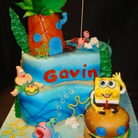 Spongebob Cake Gah, I'm such a copy cat! I was given a picture of this cake and asked to make it for a little boy's 2nd birthday. The original...