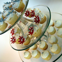 Daisies And Rings Bridal Shower Cupcakes