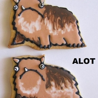 "Alot Cookies Alot cookies! I am a big fan of the blog ""Hyperbole and a Half"". There is a story on there about the Alot, check it out! And..."