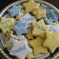 School Staff Appreciation Stars   Made for my kids' schools staff appreciation luncheon.