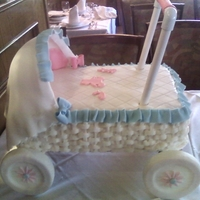 Baby Shower Cake  First I would like to thank RTRcakegirl for all her help, I could never pull this off without her help, It was a HUGE hit at my niece`s...