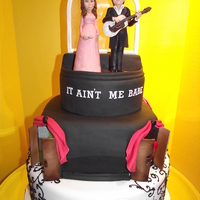Johnny Cash And June Carter Cake