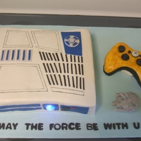 Star Wars Xbox Cake My husband was all super excited when they came out with Star Wars Xbox but since he won't be getting that for his birthday, I thought...