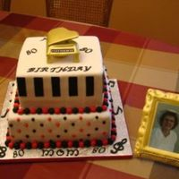 Piano Birthday Cake Piano Cake