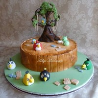 Angry Birds Cake..!