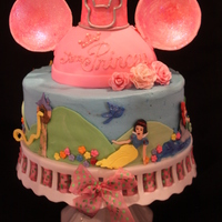 Disney Princess Birthday After a recent trip to Disney World, mom wanted a cake version of her daughter's Mickey Mouse ears, but the birthday girl was...