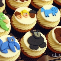 Brown Bear, Brown Bear What Do You See? Cupcakes