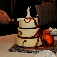 Octopus Wedding Cake