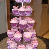 18Th Birthday Pink Cupcakes
