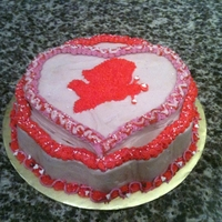 Valentine's Day Cupid Cake