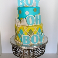 Boy Oh Boy Baby Shower