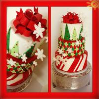 Christmas Party Cake christmas party cake