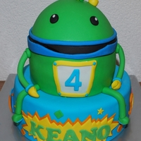 Umizoomi My very first cake customer ever requested another cake for the Birthday of her youngest, who's currently in love with the TV...