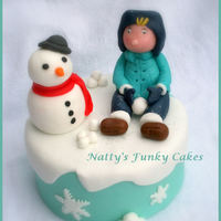 Winter Wonderland A little early this year but this is one of my cake classes this winter (which i will be teaching)