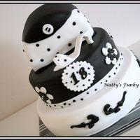 Balck And White 18Th! For a young lady who turned 18