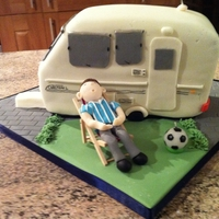 Caravan Cake For A 40Th Birthday