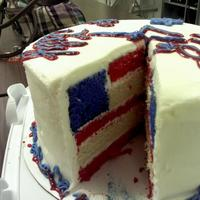 4Th Of July Cake   4th of July cake