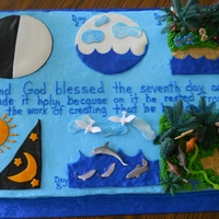 Biblical Creation Cake