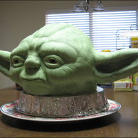 Star Wars Yoda Cake Taking my love of cooking for people & combining with artistic ability. Self-taught aside from basic decorating courses. This was my...