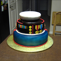 This Is The Cake I Made For The Usmc Birthday In 2013 Golden Butter Cake With Vanilla Swiss Meringue Buttercream Covered In Fondant All I  This is the cake I made for the USMC Birthday in 2013. Golden butter cake with vanilla Swiss meringue buttercream, covered in fondant. All...
