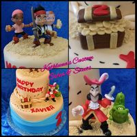 Jake And The Neverland Pirates Themed Cake Jake and the Neverland Pirates themed cake