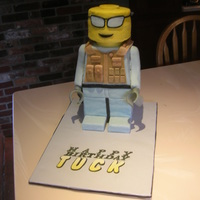 Lego Soldier Cake