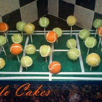 Tennis Ball Cake Pops Thanks for looking!