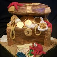 Pirate's Treasure Chest For a 5 year old girl
