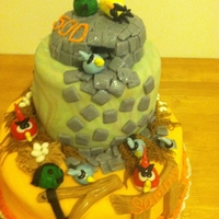 Angry Birds All made with Fondant. I had a lot of fun making this. Thanks for looking