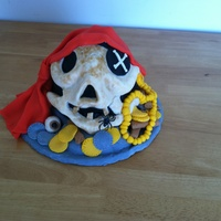 Pirate Birthday Cake I took the idea from Debbie Brown book. Thank You for looking.